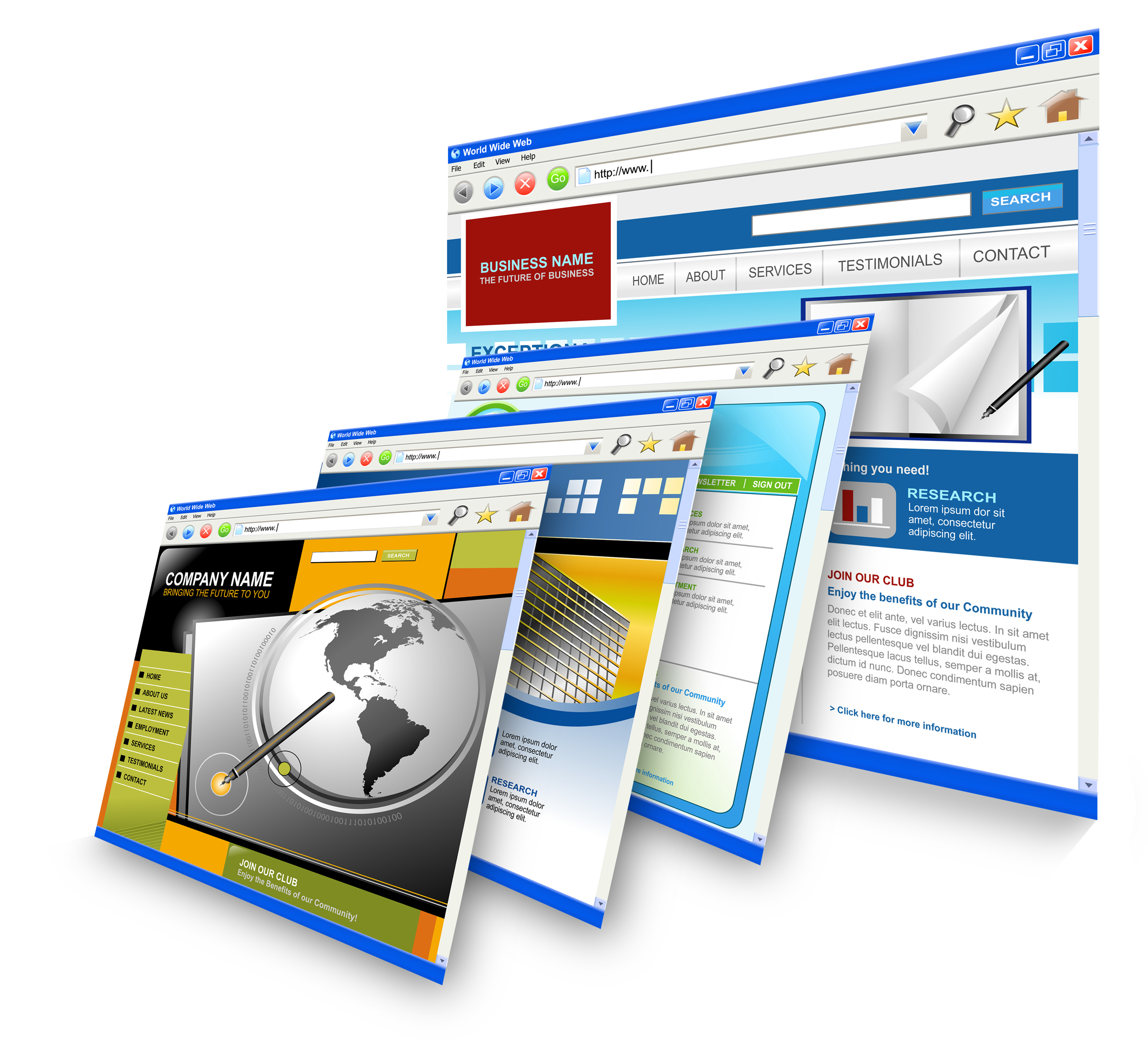 affordable web site design services